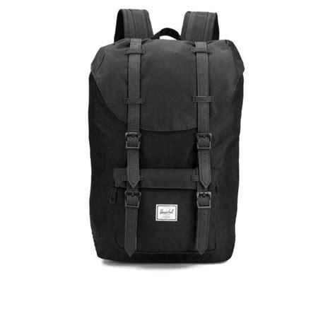Original Herschel America Backpack Black herschel supply co classic america mid volume backpack black