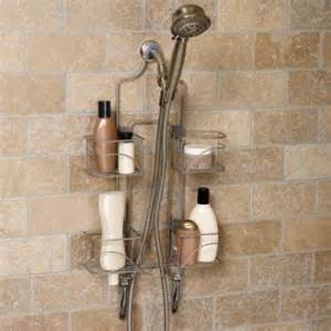 hawthorne expanding shower caddy bathroom soap shoo