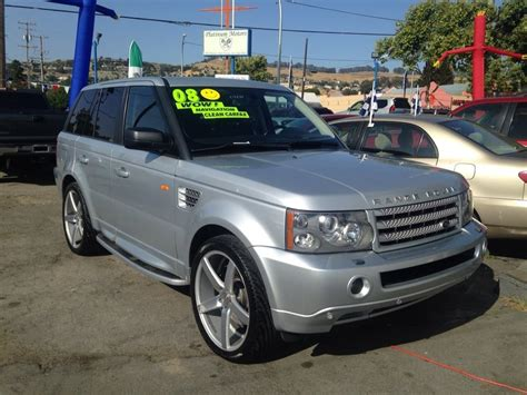 range rover sport rims 22 2008 land rover range rover sport supercharged with 22