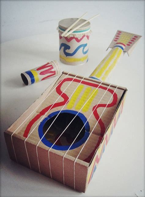 Cardboard Paper Craft - 10 crafty cardboard ideas tinyme