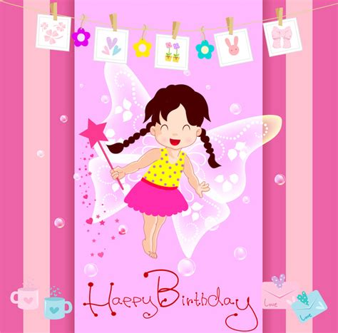 birthday card template clipart happy birthday card with free vector in adobe
