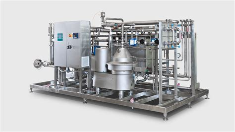 Freezer Gea Second compact milk pasteurizer mwa for milk and whey