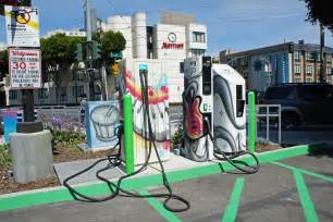Electric Car Charging Station San Francisco San Francisco Kansas City Aim To Get Smarter About