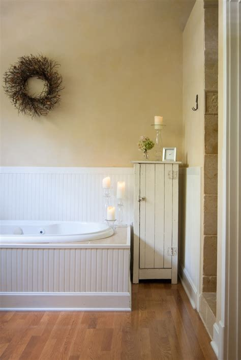 beadboard around bathtub sumptuous jelly cabinet in bathroom farmhouse with