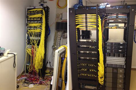 Patch Rack Cable Management by Patch Cable Management Not Just For Looks