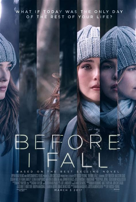 before i fall before i fall is an emotional roller coaster