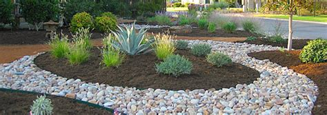 River Rock Landscaping Pictures Landscape Supplies Organic Landscape Supplies