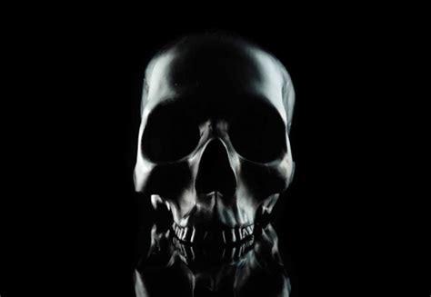 Black Skull skulls from d l co the skull appreciaton society
