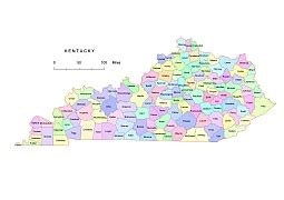 kentucky county map pdf kentucky