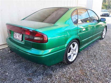 subaru liberty 1999 sold subaru liberty sedan 1999 green used vehicle sales