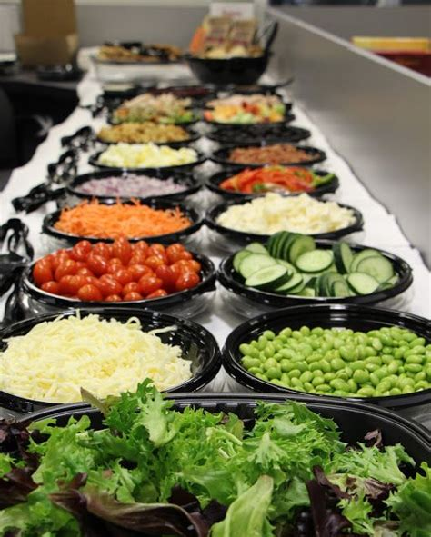 salad buffet menu ideas check out fresh city for a delicious catered salad bar for your next office lunch posts from