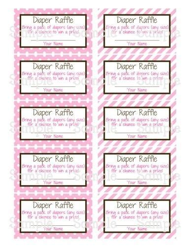 printable raffle tickets for students printable diaper raffle tickets carisoprodolpharm com