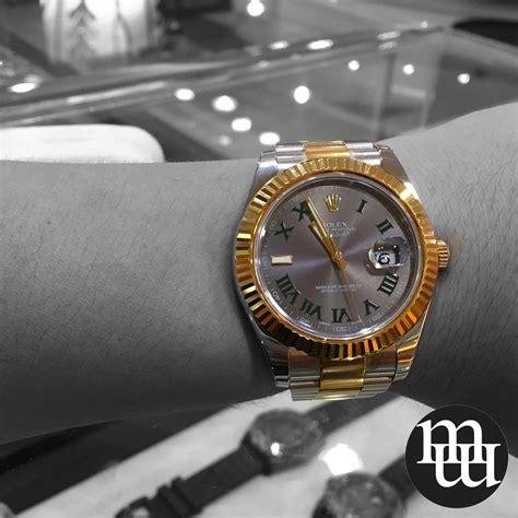 Jam Tangan Golden Moon jual jam tangan rolex datejust ii 41mm gold steel totone
