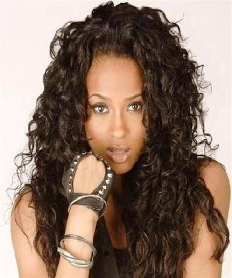 weave hairstyles for women in their 40 s black hairstyles modern long curly weave hairstyles for