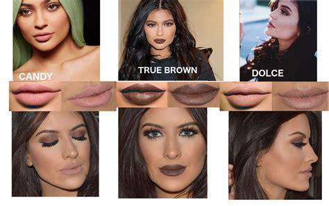 Lip Kit In Dolce K jenner tutorial and lip kit dupes eleise