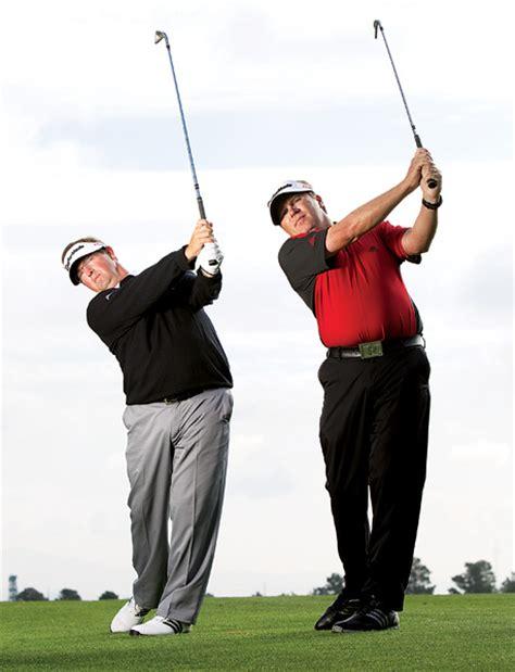 mike bennett golf swing four moves to stack tilt golf tips magazine