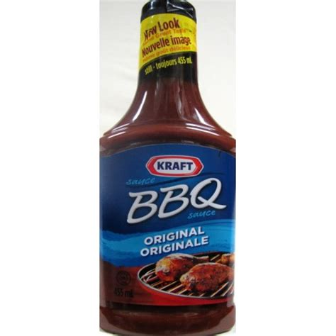 Kraft Bbq Sauce Spicy Honey 18 Ounce kraft original flavor barbecue sauce