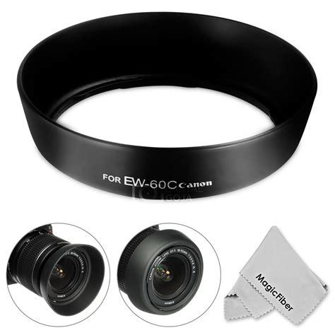 Lenshood Ew 60 Ii For Canon Ef S 55250 Is Ii Lensa 75 300 Tele Et 60 ew 60c dedicated lens for canon ef s usm 18 55mm f 3