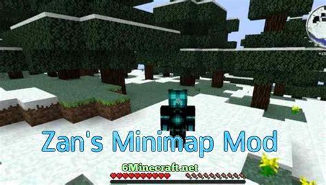 Zan S Minimap Mod Mods Para Minecraft Kotaksuratco - Mini map para minecraft 1 11 2