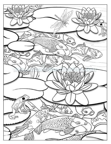 coloring pages of pond animals 94 coloring pages pond animals color a mandala pond