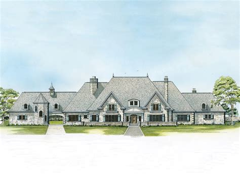 luxury country house plans bascayne country french home plan 095s 0004 house plans