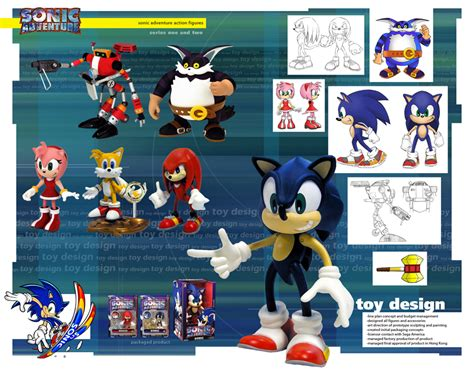 Tiang Rem Twotone Sonic Dan Wave these resaurus sonic adventure figures were cool
