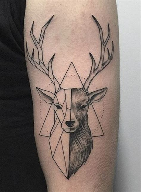 geometric animal tattoo 101 geometric designs and ideas