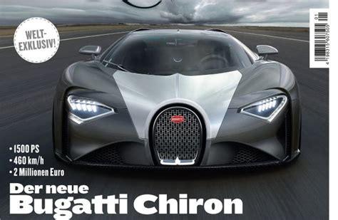 Autobild Neueste Ausgabe by Weltexklusiv Motor Revue Zeigt Den Neuen Bugatti Chiron
