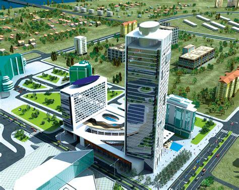 dnec delta tower block  belgrade serbia