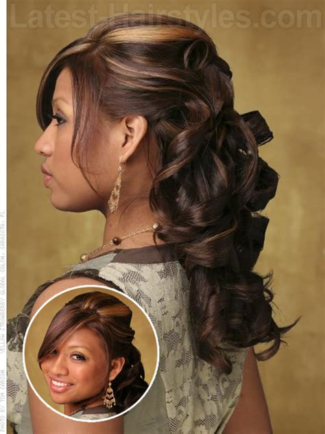 hairstyles with curls and bump gallery quinceanera hairstyles with bump and curls