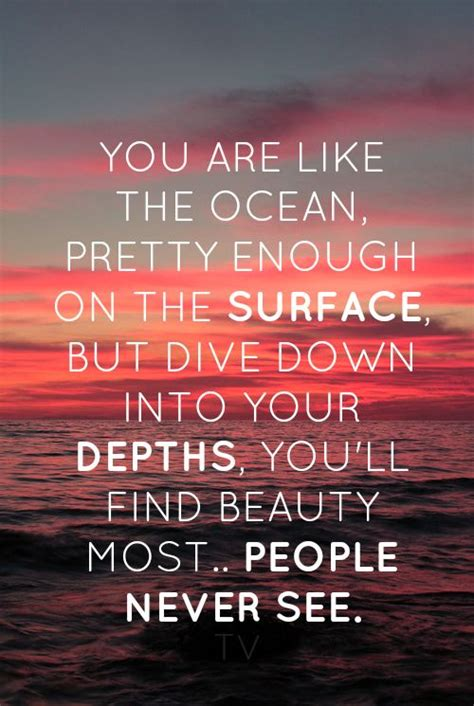finding the deep river within a woman s ocean beautiful quotes quotesgram