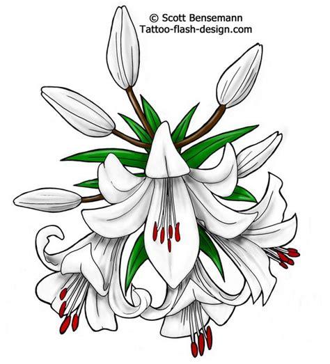 tattoo flash lily flower tattoo designs tattoo ideas white lily flower