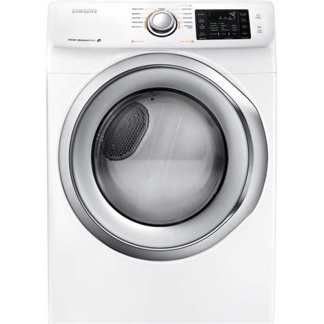 samsung dryer samsung 7 5 cu ft electric dryer in white dv42h5200ew the home depot