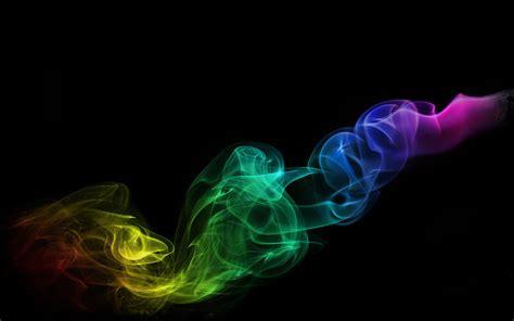 wallpaper hitam keren full hd humo de colores fondos hd
