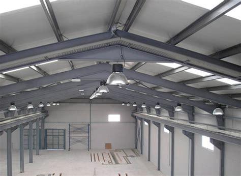 iluminacion industrial foto instalaci 243 n el 233 ctrica e iluminaci 243 n en nave