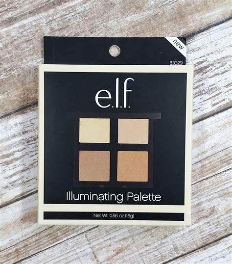 e l f illuminating pallete e l f illuminating palette review swatches the budget