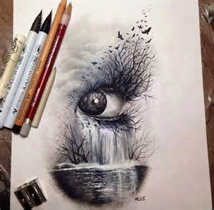 cool colored pencil drawings analogie style gothique gothique