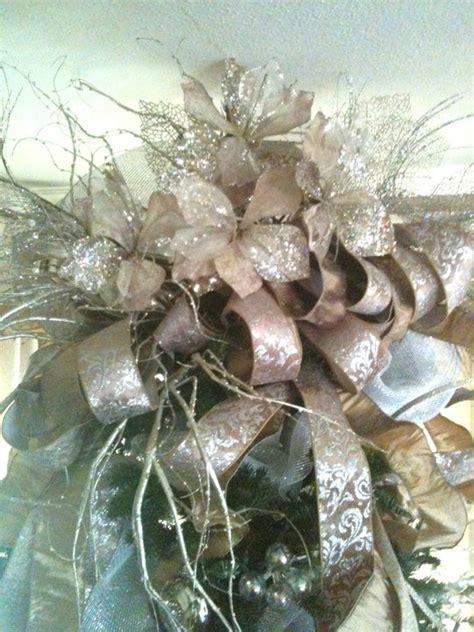 fancy tree topper christmas tree toppers pinterest