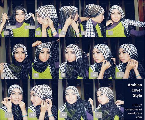 m0del berhijab untuk pipi yg tembem tutorial hijab