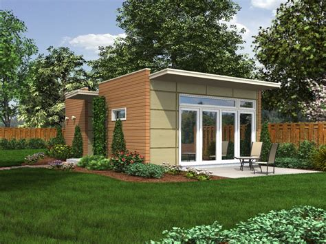 prefab guest cottage backyard box