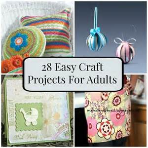 28 easy craft projects for adults favecrafts com