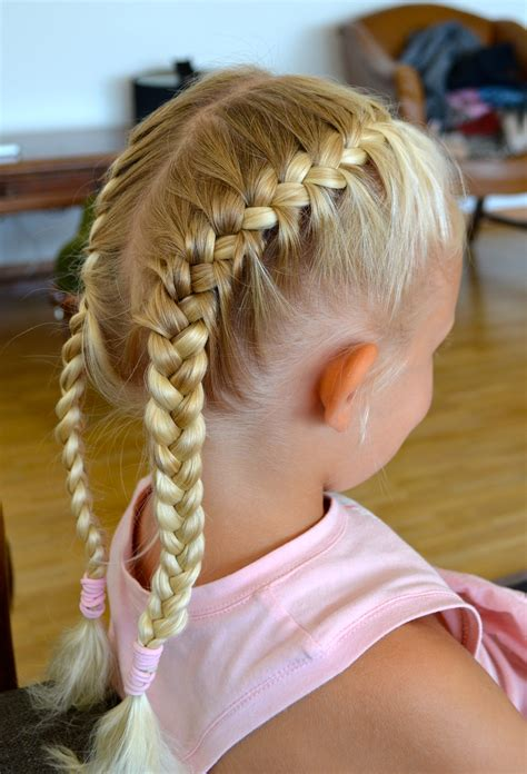hairstyle with 2 shoulder braids two african french braids with weave www imgkid com