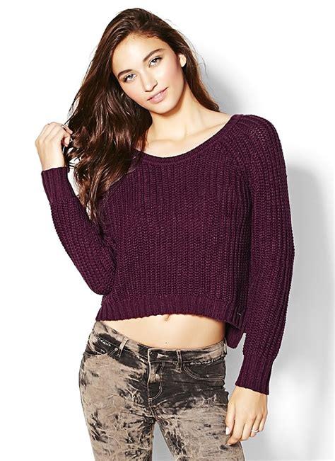 Sweeter Crop high low crop sweater sweaters garage