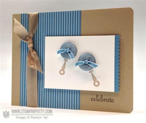 boy card ideas stin up baby card for two guys stin pretty