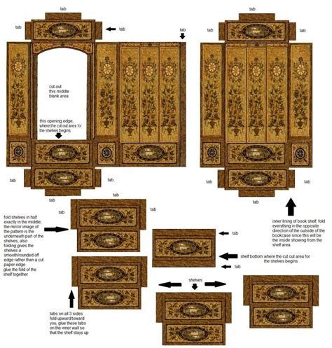 printable miniature house 172 best paper dollhouse furniture images on pinterest