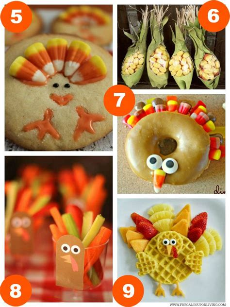 food crafts ideas 31 thanksgiving food craft ideas