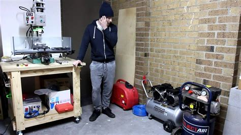 SILENT Air Compressor !?!? home workshop   YouTube