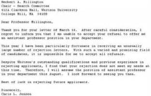 Home Design Plaza Ecuador the best response to a rejection letter ever neatorama