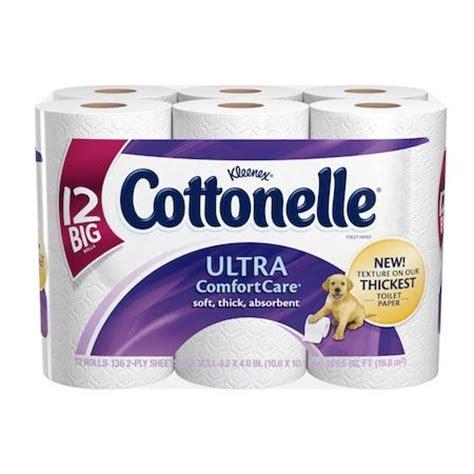 Who Makes Cottonelle Toilet Paper - cottonelle ultra comfort care toilet paper