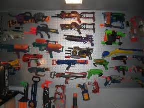 nerf gun wall yes for the home